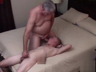 oldy Older Man Rims And Fucks Bareback Straight Blond Teenager amateur