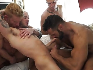 group sex (gay) big cock (gay)