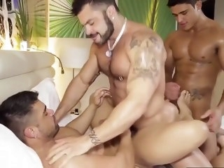 bondage Latino Power Fuck big cock