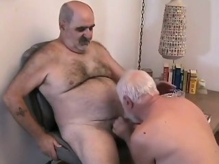 gay Two mature men getting off daddy